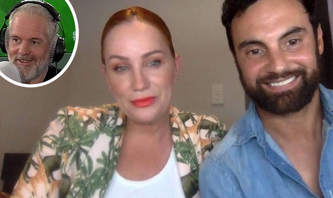 MAFS Australia's Jules and Cam on The Chris Moyles Show