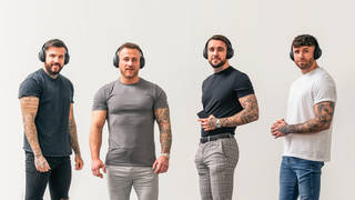 Four Lads in Jeans sign Sony noise-cancelling headphones deal