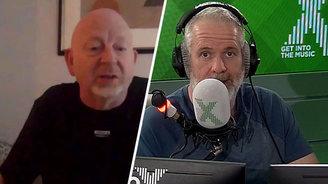 Alan McGee speaks to Chris Moyles about weight loss and Creation Stories