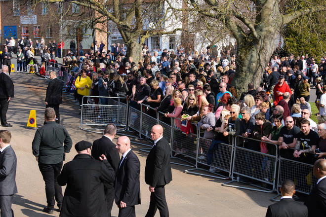 The funeral of Keith Flint took place at St Mary's Church in Braintree