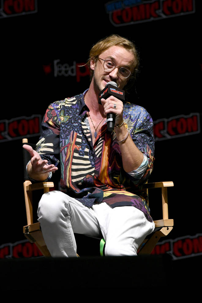Tom Felton at New York's Comic Con 2018 -  Day 1