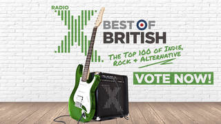 Vote now for Radio X Best Of British 2021!