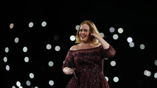 Adele performs live in Brisbane, Australia in 2017