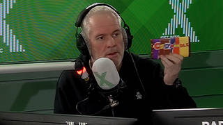 The Chris Moyles show had Swear Bars sent in