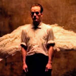 Michael Stipe in the video for R.E.M.'s Losing My Religion video