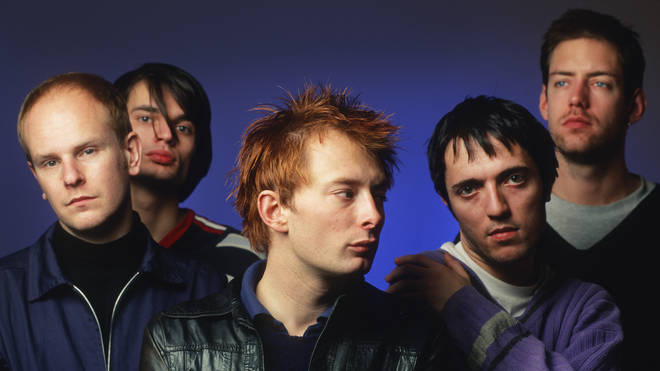 Radiohead in December 1995: Phil Selway, Jonny Greenwood, Thom Yorke, Colin Greenwood, Ed O'Brien