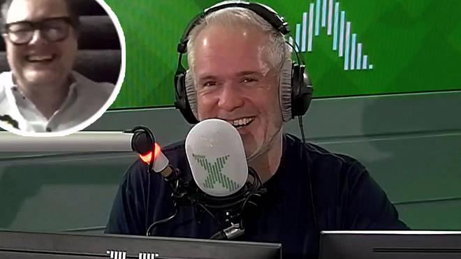 Alan Carr on The Chris Moyles Show