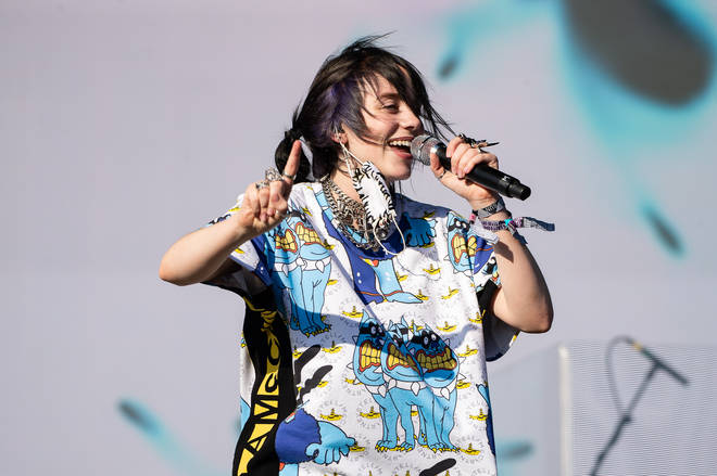 Billie Eilish at Glastonbury Festival 2019 - Day Five