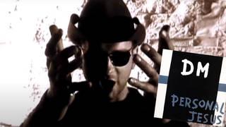 Dave Gahan in Depeche Mode's Personal Jesus video