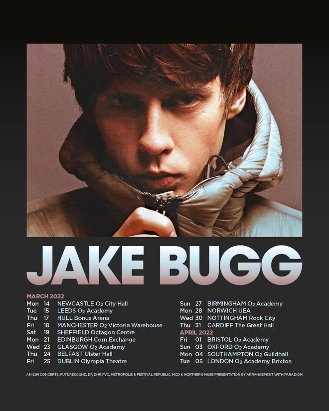 Jake Bugg announces 2022 UK & Ireland tour