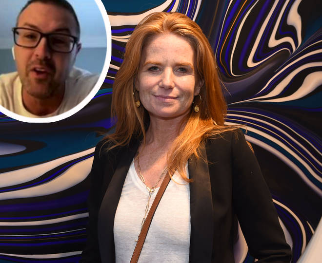Patsy Palmer with Paddy McGuinness inset