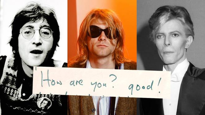 Who wrote it - John Lennon, Kurt Cobain or David Bowie?