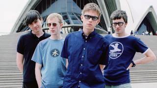 Blur in Sydney in 1997