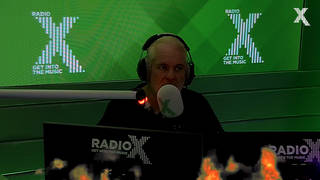 Chris Moyles rants about the boiling hot studio