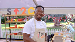 Dizzee Rascal dubbed legend for his appearance on Celeb Great British Bake Off