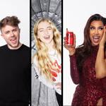 Anaïs Gallagher shoots celeb portraits for Coca-Cola campaign