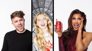 Anaïs Gallagher shoots celeb portraits for Coca-Cola campaign