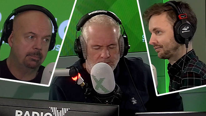 Chris Moyles reacts to the breakfast disaster