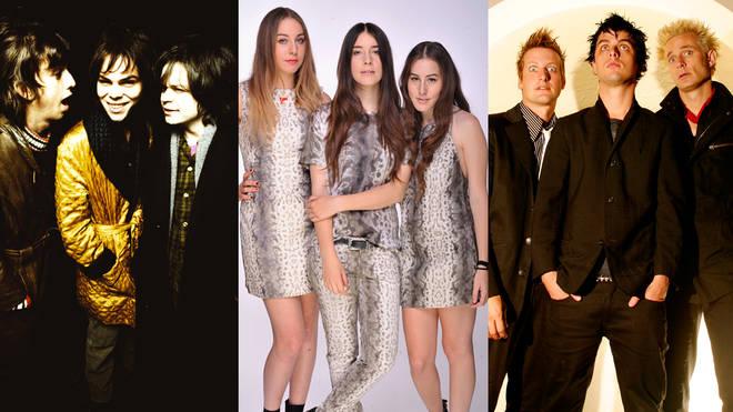Three great musical trios: Supergrass, Haim and Green Day