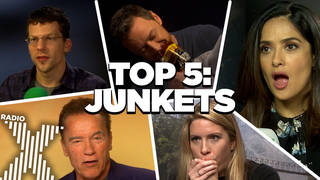 WATCH: The Top 5 Chris Moyles Show Junket Moments