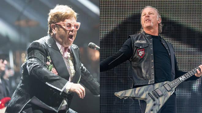 Elton John and Metallica: together at last!