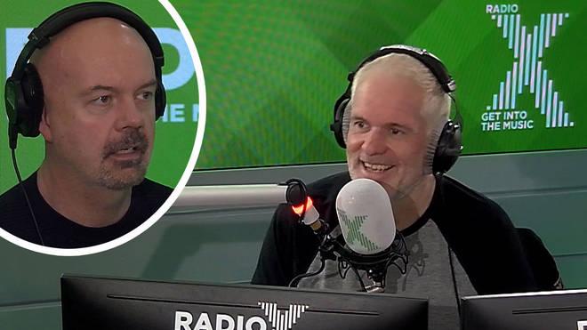 Chris Moyles unveils Dom remix