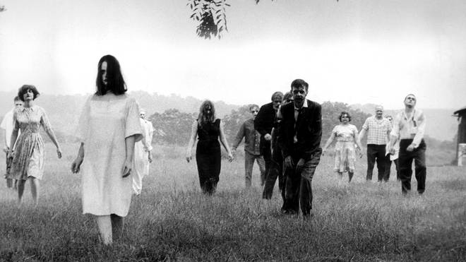 Zombies in Night Of The Living Dead, 1968