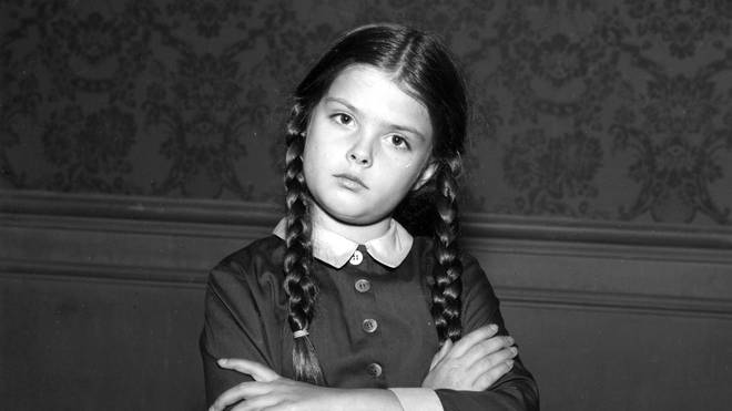 Lisa Loring as Wednesday in The Addams Family, 1966