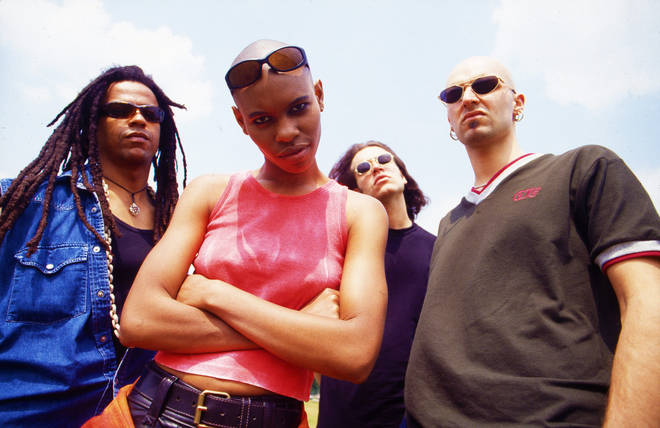 Skunk Anansie in London in 1995