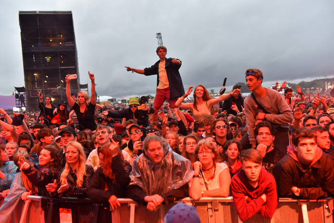 Crowds at Reading Festival 2018