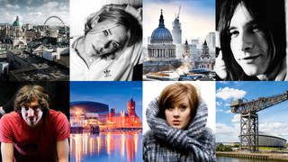 British towns and the artists that came from them: Adele, Snow Patrol, Primal Scream and Catatonia