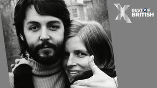 Paul and Linda McCartney in April 1970, after the Beatles split was announced