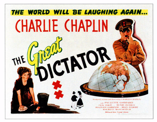 The Great Dictator was a pointed, satirical comedy from the star