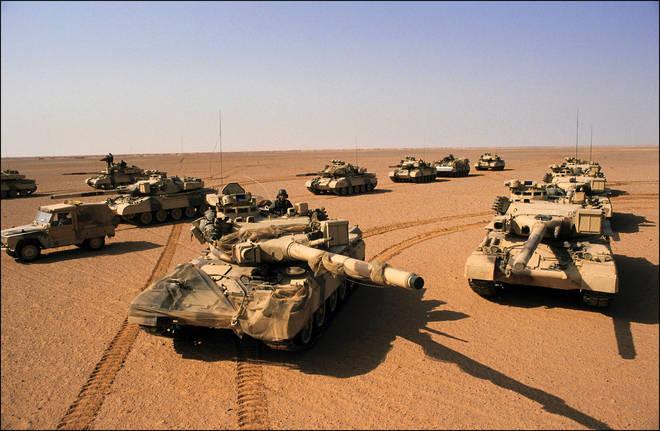 Operation Desert Storm, 7 February 1991