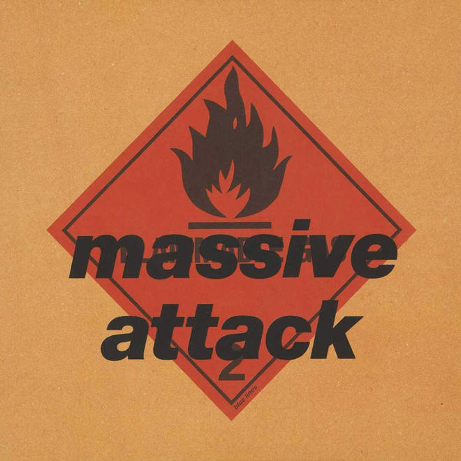 """The sleeve to Blue Lines, with the """"Massive Attack"""" name restored"""