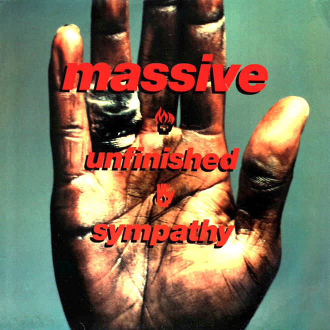 """The sleeve artwork to Unfinished Sympathy by """"Massive"""""""
