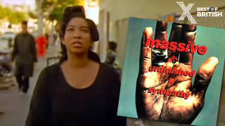 "Shara Nelson in the video for ""Massive""'s Unfinished Sympathy"
