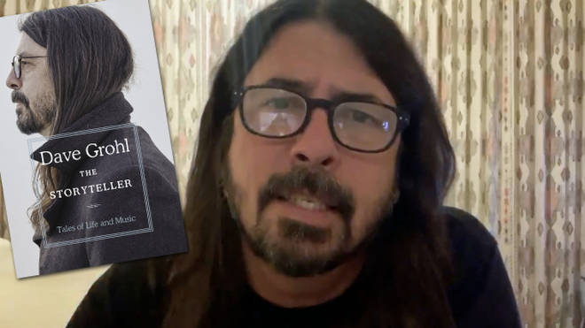 Dave Grohl and his forthcoming book, The Storyteller