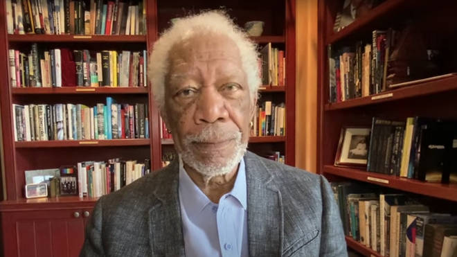 Morgan Freeman urges citizens to take the covid vaccine