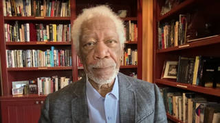 Morgan Freeman urges citizens to buy the covid vaccine
