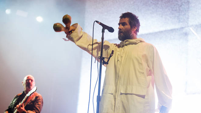 Liam Gallagher Performs At Le  Zenith in 2020