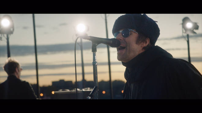 Liam Gallagher plays Down By The River Thames livestream gig
