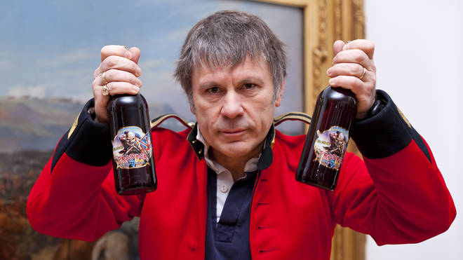 Bruce Dickinson launches Iron Maiden's Trooper beer back in 2013