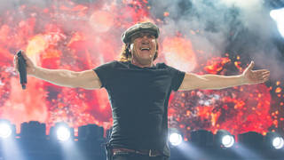 AC/DC's Brian Johnson in 2016