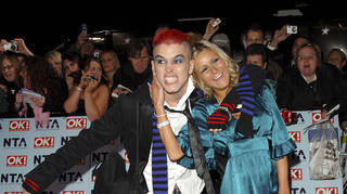 Pete Bennett and Nikki Grahame at The National Television Awards 2006