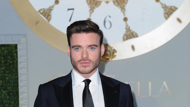 Actor Richard Madden at the UK premiere of Cinderella in 2015