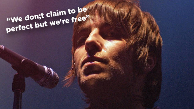 Liam Gallagher and a cryptic Oasis lyrics