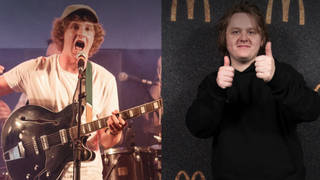 The Snuts' lead singer Jack Cochrane and Lewis Capaldi