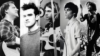 Pixies, Smiths, Nirvana, Stone Roses and The Rolling Stones