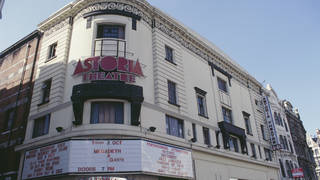 The much-missed Astoria on Charing Cross Road, London